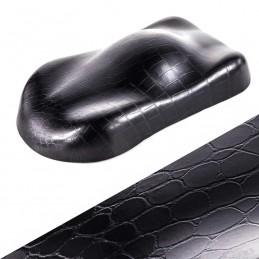 CROCODILE  NOIR vinyle autocollant pour relooking et restauration de meuble etc