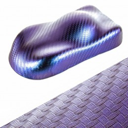 CAMELEON ( Bleu irisé) carbone couleur changeant adhésif relookage
