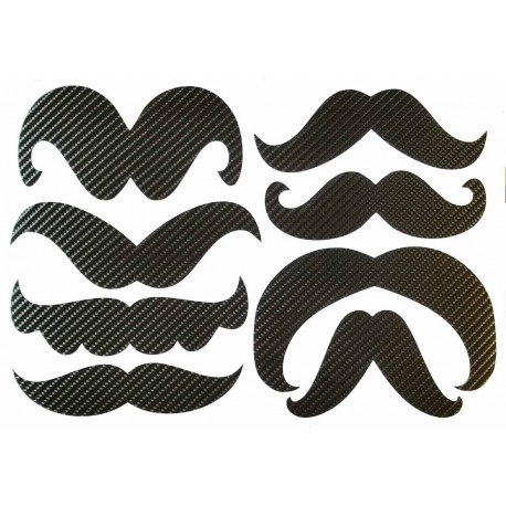 STICKERS  : MOUSTACHE