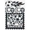 STICKERS  : Fan de football