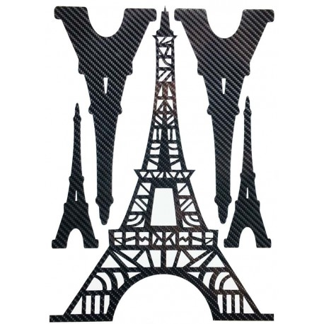 STICKERS  : TOUR EIFFEL TRIBAL
