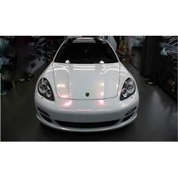 Blanc Céramique,  Vinyle Adhésif AUTOCOLLANT habillage auto moto déco